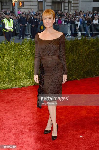 Renee Zellweger attends the Costume Institute Gala for the 'PUNK Chaos to Couture' exhibition at the Metropolitan Museum of Art on May 6 2013 in New...