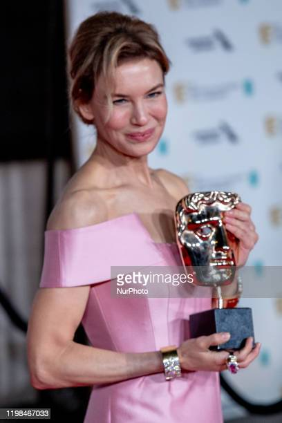 Renee Zellweger attends the EE British Academy Film Awards 2020 After Party at The Grosvenor House Hotel on February 02, 2020 in London, England.