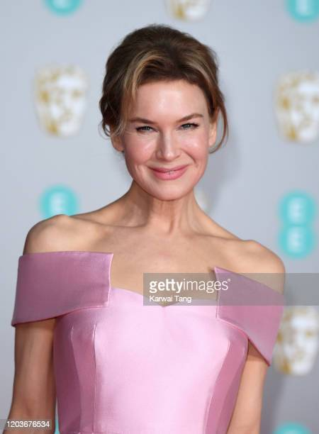 Renee Zellweger attends the EE British Academy Film Awards 2020 at Royal Albert Hall on February 02, 2020 in London, England.