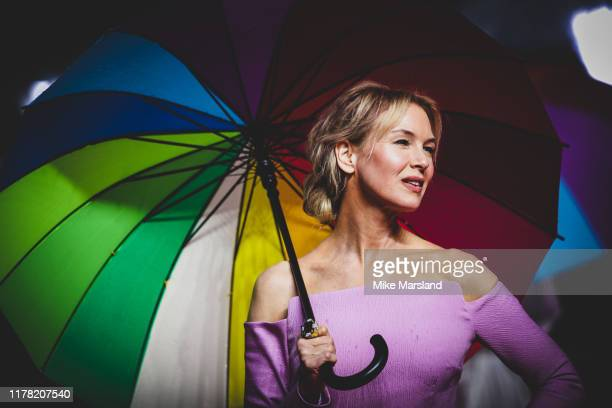 Renee Zellweger attends the Judy European Premiere at The Curzon Mayfair on September 30 2019 in London England