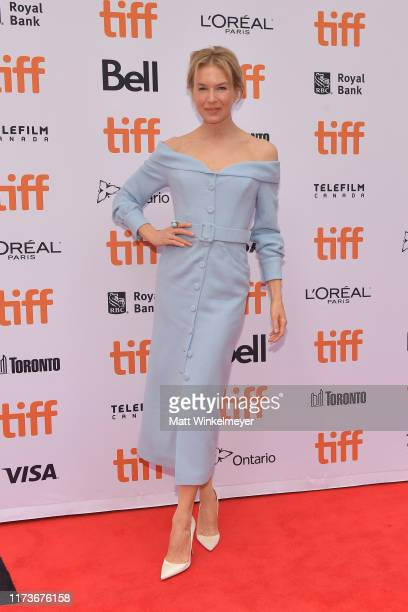 Renee Zellweger attends the Judy premiere during the 2019 Toronto International Film Festival at Princess of Wales Theatre on September 10 2019 in...