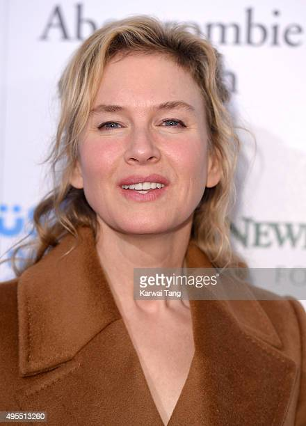 Renee Zellweger attends the SeriousFun Children's Network London Gala at The Roundhouse on November 3 2015 in London England