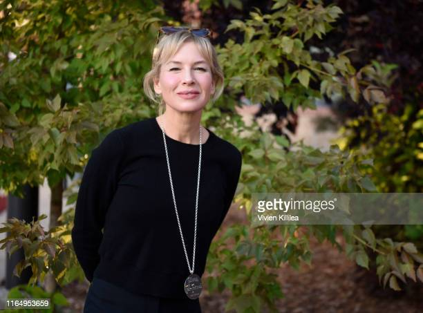 Renee Zellweger attends the Telluride Film Festival 2019 on August 30 2019 in Telluride Colorado