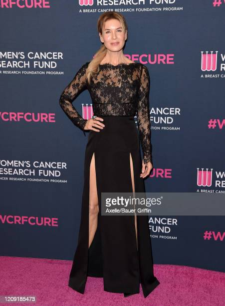 Renee Zellweger attends The Women's Cancer Research Fund's An Unforgettable Evening 2020 at Beverly Wilshire A Four Seasons Hotel on February 27 2020...