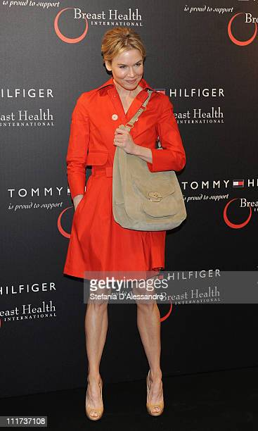 c7138cd1597 Renee Zellweger attends Tommy Hilfiger Limited Edition Bag Launch For Breast  Health International on April 6