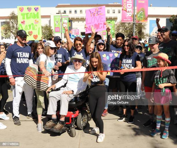 Renee Zellweger Coco Arquette and Courteney Cox attend Nanci Ryder's 'Team Nanci' 15th Annual LA County Walk To Defeat ALS at Exposition Park on...