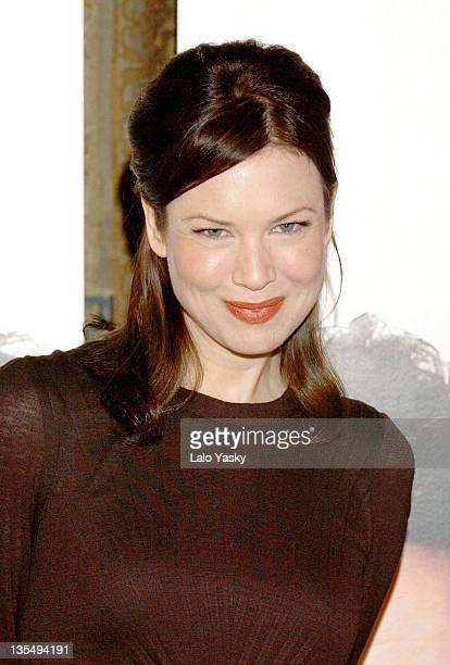 Renee Zellweger during 'Bridget Jones The Edge of Reason' Madrid Photocall at Ritz Hotel in Madrid Spain