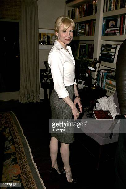 Renee Zellweger during Cheryl Howard Crew Celebrates Her New Book 'In The Face of Jinn' at Private Residence in Pacific Palisades California United...