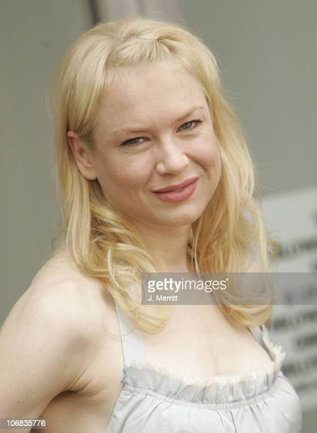 Renee Zellweger during Renee Zellweger Honored with a Star on the Hollywood Walk of Fame for Her Achievements in Film at Hollywood Blvd in Hollywood...