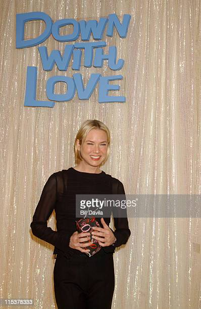 Renee Zellweger during Renee Zellweger Opens the 'Down with Love' Boutique at Bloomingdales at Bloomingdales in New York NY United States