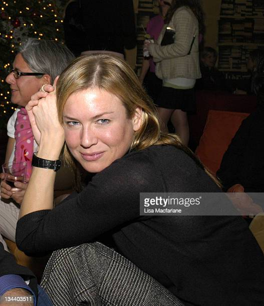 Renee Zellweger **Exclusive Coverage** during FXB Presents '6 Villages 1 Global Fight Against AIDS' Campaign Launch at SoHo House in New York City...