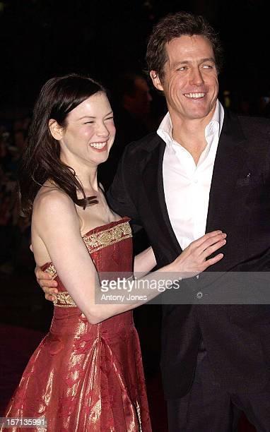 Renee Zellweger Hugh Grant Attend The 'Bridget Jones The Edge Of Reason' Uk Film Premiere In London'S Leicester Square