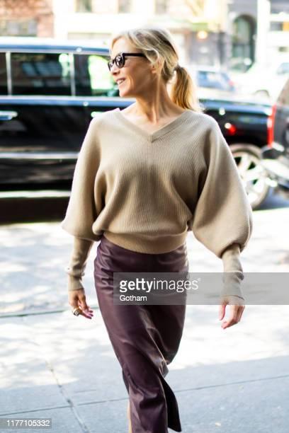 Renee Zellweger is seen in the East Village on September 25 2019 in New York City