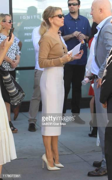 Renee Zellweger is seen on October 24, 2019 in Los Angeles, California.