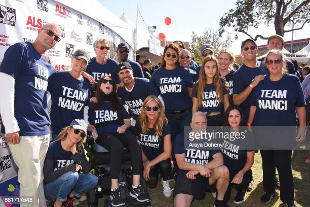 Renee Zellweger Nanci Ryder Don Diamont Cindy Ambuehl Coco Arquette Courteney Cox and team attend the 15th Annual LA County Walk To Defeat ALS with...
