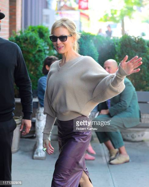 Renee Zellweger seen out and about in Manhattan on September 25 2019 in New York City