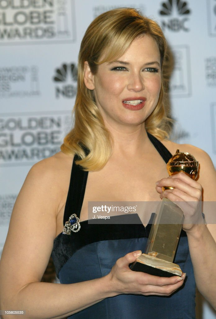 Renee Zellweger, winner for best supporting actress in a drama