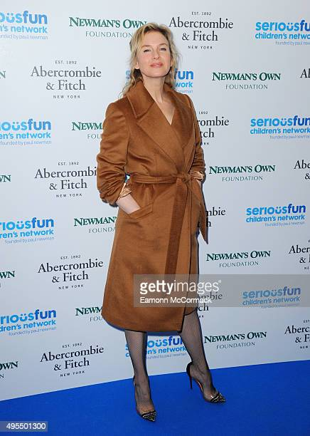 Renee Zellwegger attends the SeriousFun Children's Network London Gala at The Roundhouse on November 3 2015 in London England