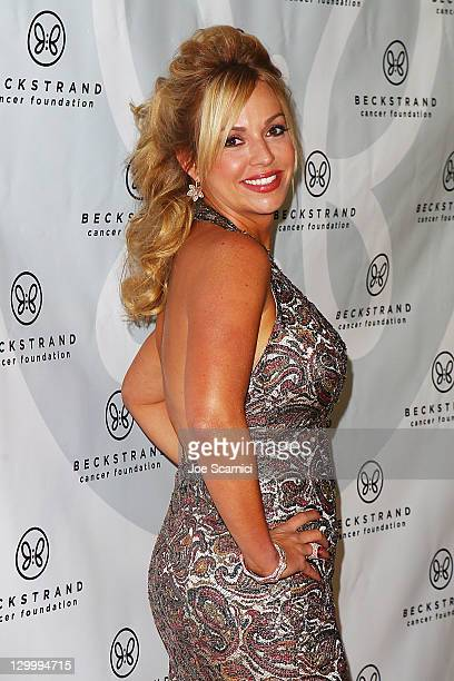 Renetta Caya arrives at Beckstrand Cancer Foundation's 8th Annual Diamond Pearl Ball at The Balboa Bay Club And Resort on October 22 2011 in Newport...