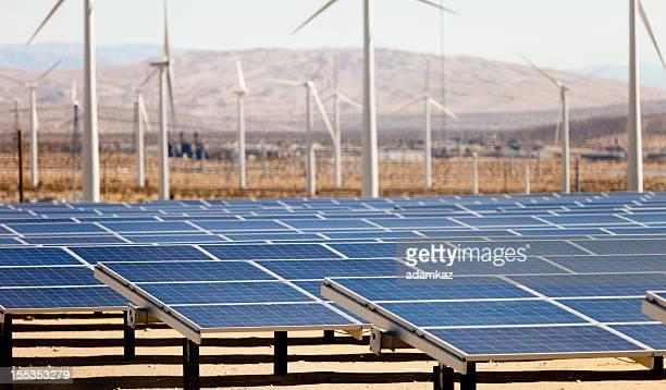 Renewable Energy - Solar and Windmills