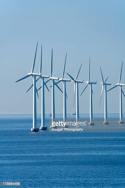Erneuerbare Energien Wind Turbine in Coppenhegan, Dänemark