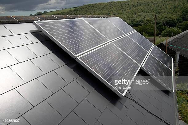 Erneuerbare Technologie: Photovoltaic Solarkollektoren