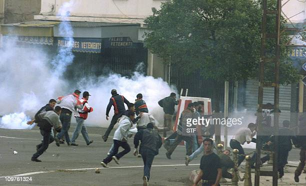 Renewed riots broke in Algeria's northeastern Kabylie region where tens of thousands of people took to the streets of the Tizi Ouzou city 140 km...