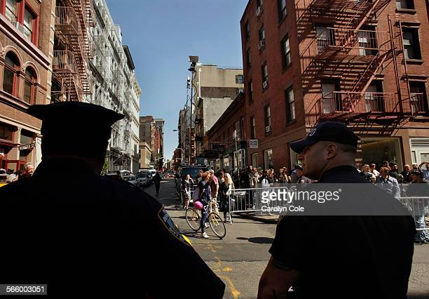 YORK APRIL 19 2012––FBI renews search for Etan Patz a 6–year–old boy who went missing 33 years ago They are looking in the basement of a building in...