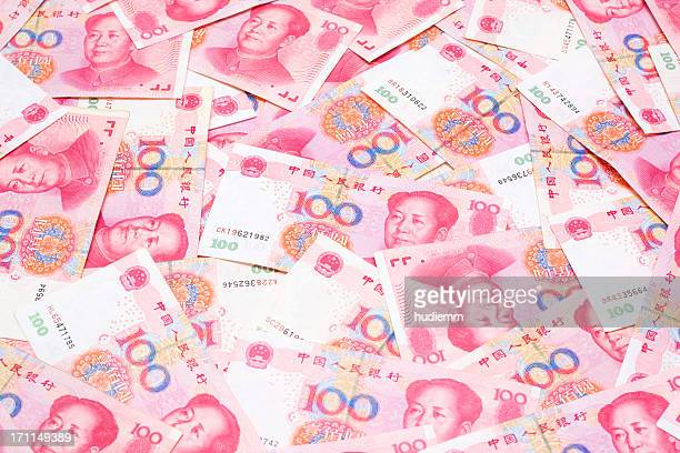 renminbi background (xxl) - mao tsé toung stockfoto's en -beelden