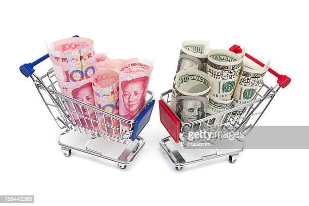 Renminbi VS dollar américain