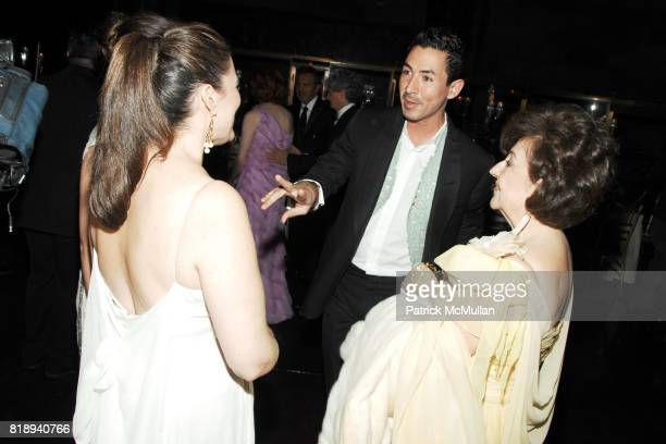 Renne Domingo, Christian Cota and Marta Ornelas attend EL MUSEO'S 2010 Annual Gala at Cipriani 42nd Street on May 27th, 2010 in New York City.