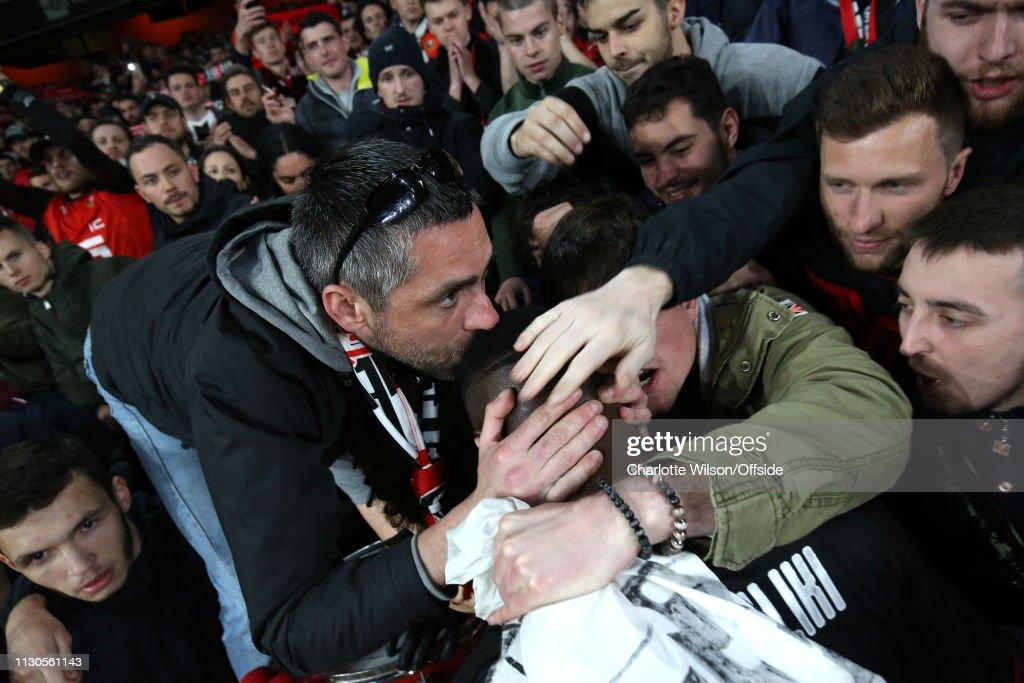 Arsenal v Stade Rennais - UEFA Europa League Round of 16: Second Leg : News Photo