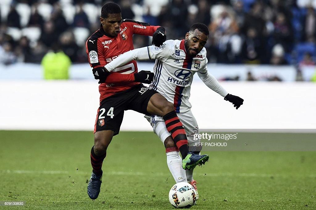 Olympique Lyonnais v Stade Rennes - Ligue 1