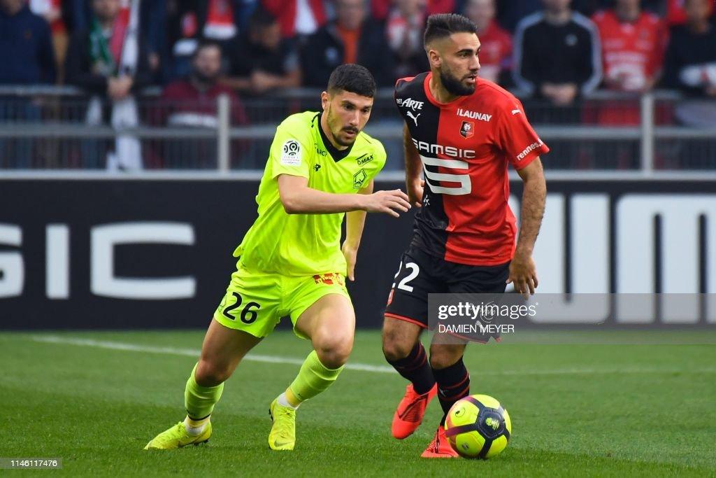 FRA: Stade Rennes v Lille OSC - Ligue 1