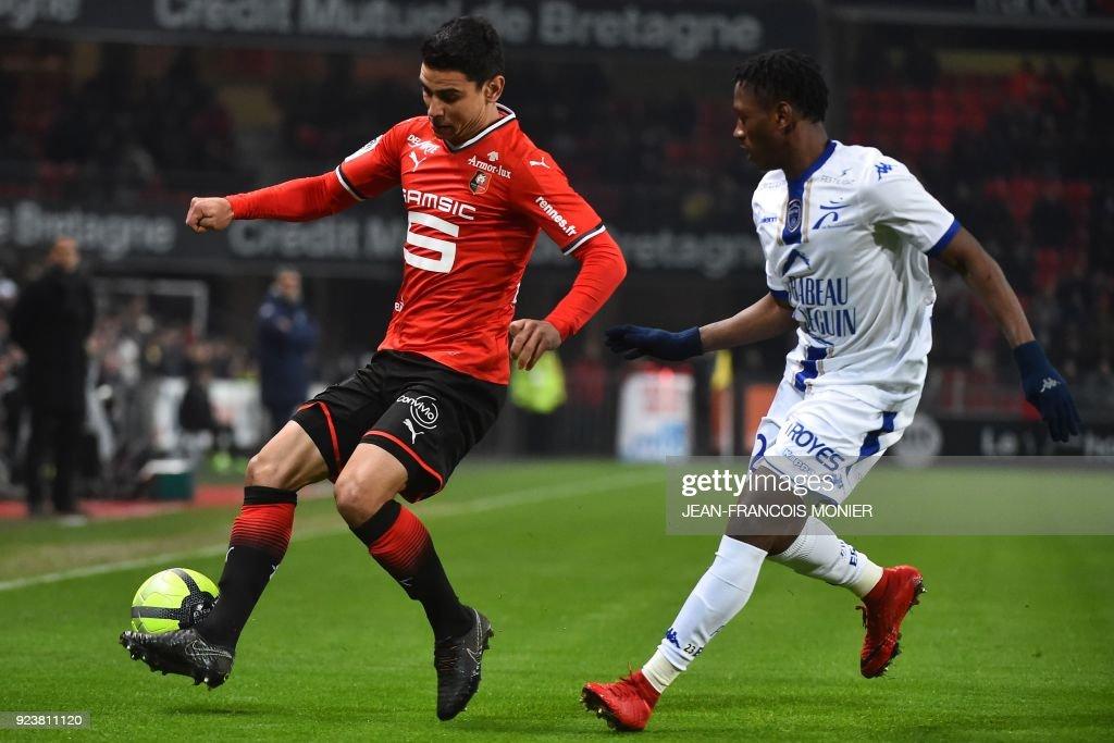 Stade Rennes v Troyes AC - Ligue 1
