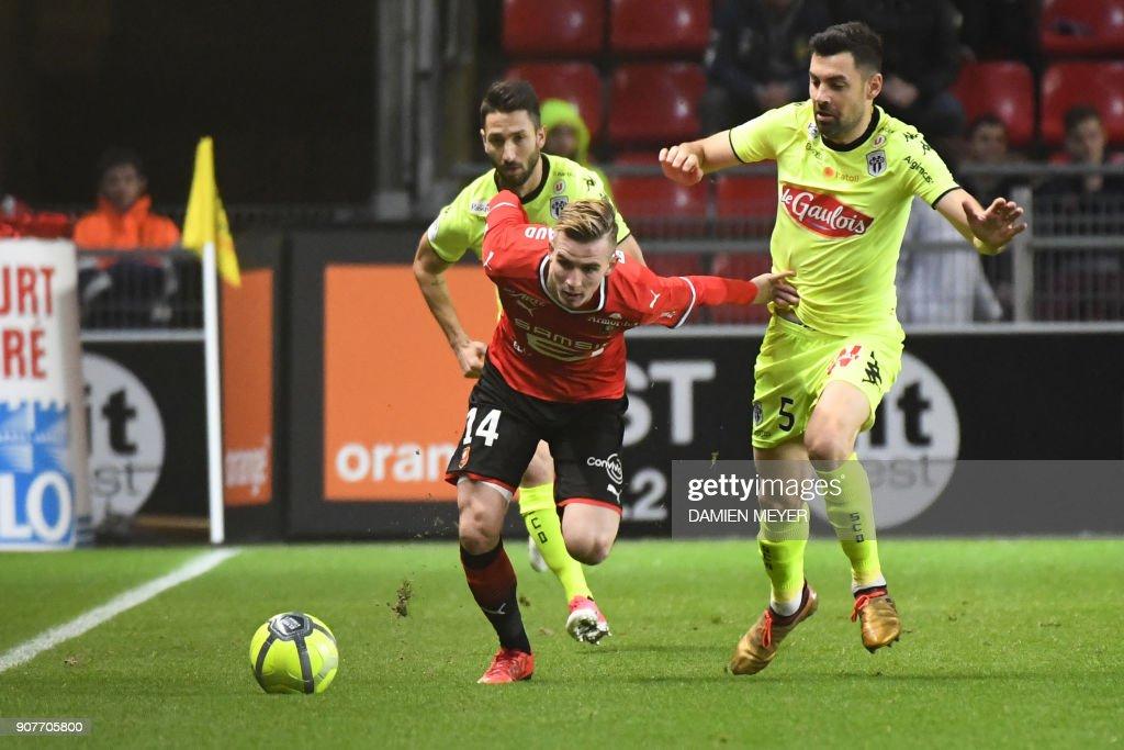 Stade Rennes v Angers SCO - Ligue 1