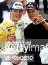 Rennfahrer Formel 1 D freut sich mit seinem Bruder Ralf über dessen zweiten Saisonsieg beim Formel 3 Rennen in Monaco wo dieser den 2 Platz belegte