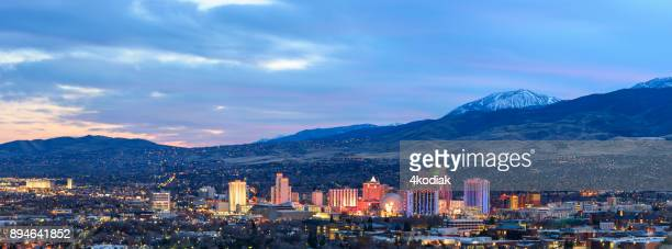 Reno at Dawn, Nevada