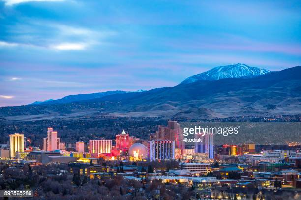 reno, nevada - nevada stock pictures, royalty-free photos & images