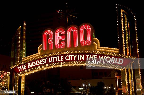 Reno, Nevada- Welcome Sign