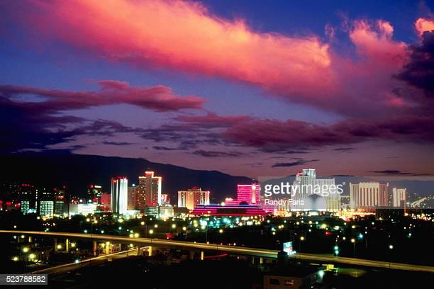 Reno Skyline at Dusk