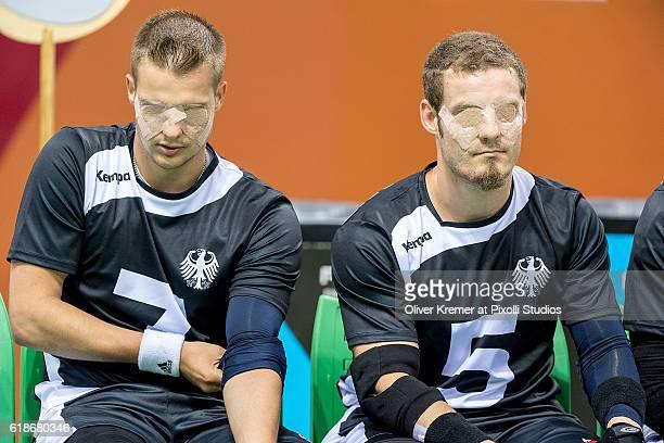 Reno Tiede of RGC Hansa Rostock eV/MecklenburgVorpommern [paralympic classification B2] and Sefan Hawranke of SSV Königs Wusterhausen/Brandenburg...