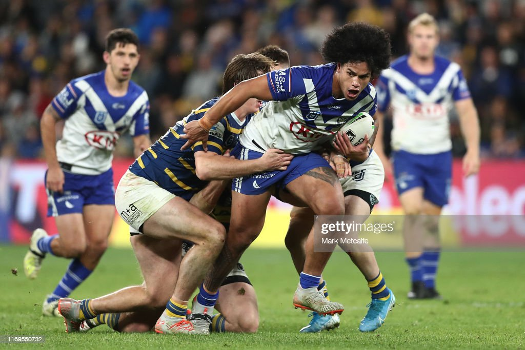 NRL Rd 23 - Eels v Bulldogs : News Photo