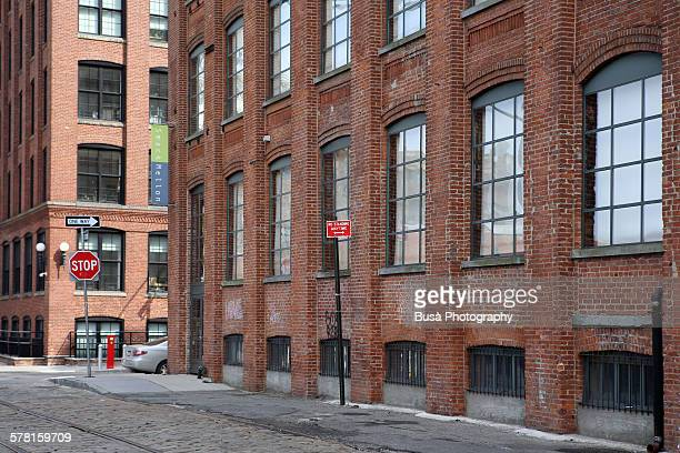 Renovated industrial buildings, Downtown Brooklyn