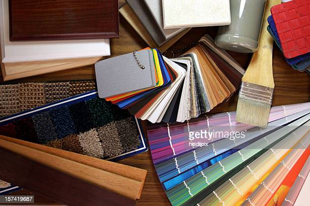 renovating - carpet decor stock photos and pictures