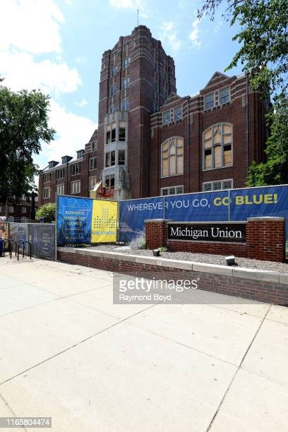 Renovation continues on Michigan Union at the University Of Michigan in Ann Arbor Michigan on July 30 2019