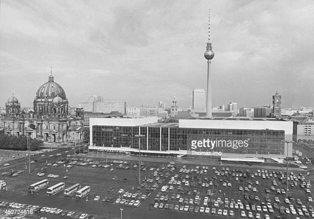 Renovation or demolition the Palace of the Republic is contaminated with asbestos on September 21 in Berlin Germany The year 2014 marks the 25th...