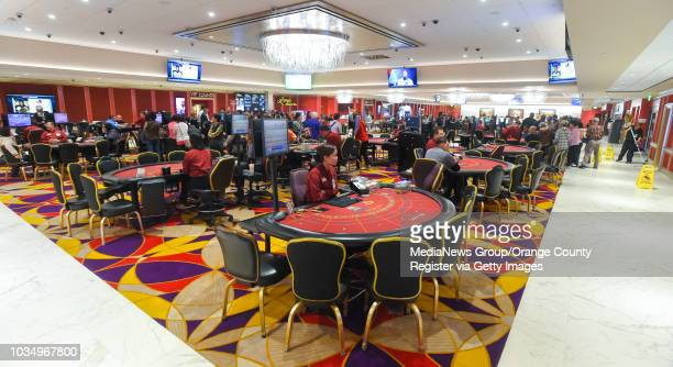 Renovation work is nearly complete at Larry Flynt's Lucky Lady Casino in Gardena, CA on Thursday, March 16, 2017. The casino, formerly the Normandie,...