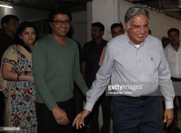 Ratan Tata Met Raj Thackerey At His Residence Photos and ...
