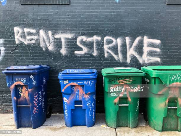 rent strike - striker stock pictures, royalty-free photos & images